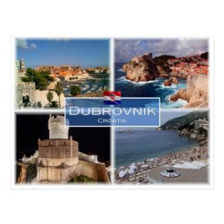 HR Croatia - Dubrovnik - Postcard