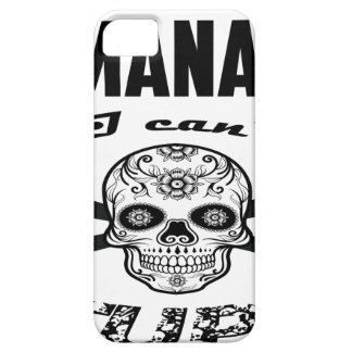 HR manager skull gifts Barely There iPhone 5 Case