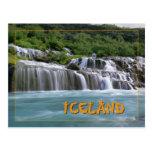 Hraunfossar Iceland Post Cards