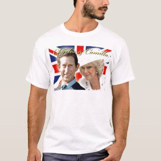 HRH Prince Charles & HRH Duchess of Cornwall T-Shirt