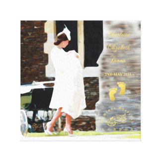 HRH Princess Charlotte Elizabeth Diana - Canvas