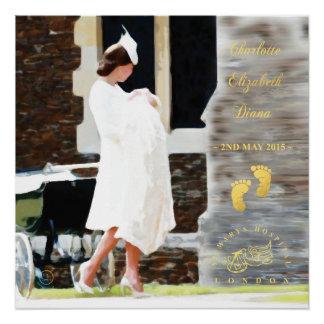 HRH Princess Charlotte Elizabeth Diana - Poster