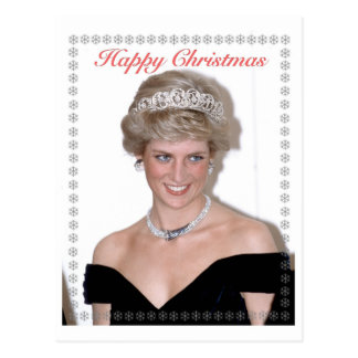 HRH The Princess of Wales Christmas Postcard