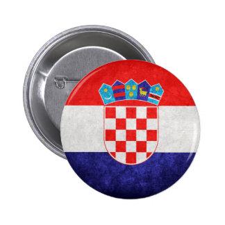 Hrvatska Croatia Flag Buttons
