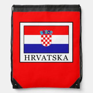 Hrvatska Drawstring Bag
