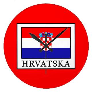 Hrvatska Large Clock