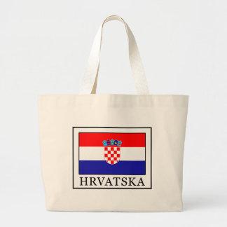 Hrvatska Large Tote Bag