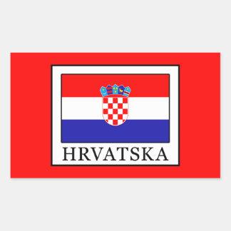 Hrvatska Rectangular Sticker