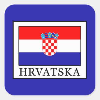 Hrvatska Square Sticker