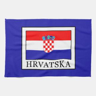 Hrvatska Tea Towel