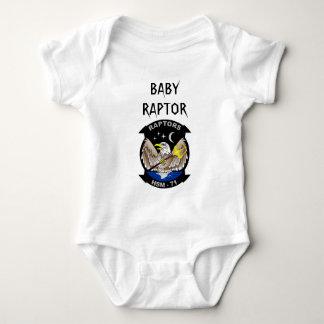 HSM_71 BABY RAPTOR BABY BODYSUIT