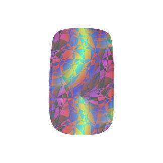 HSV Spiral Nails Sticker