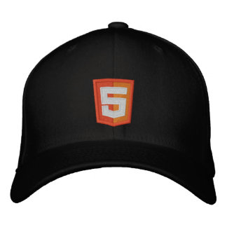 HTML 5 EMBROIDERED HAT