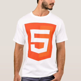 HTML 5 Logo Official W3 W3C T-Shirt