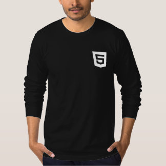 html 5 Long Sleeve T-Shirt