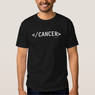HTML End Cancer T Shirt