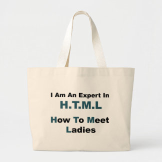 HTML Full Tote Bags