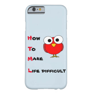 HTML - how to make life difficult iPhone case