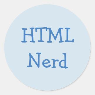 HTML Nerd Stickers