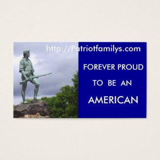 http://Patriotfamilys.com... Business Card