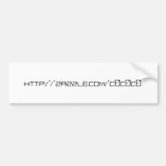 http://zazzle.com/c0c0c0 bumper sticker