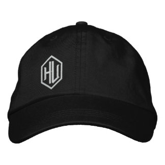 Hu Embroidered Hat