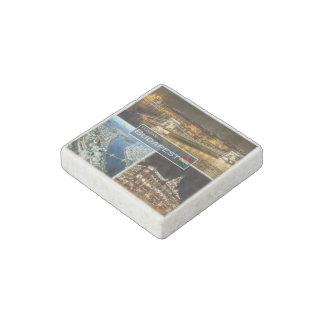 HU Hungary - Budapest - New York Palace - Stone Magnet