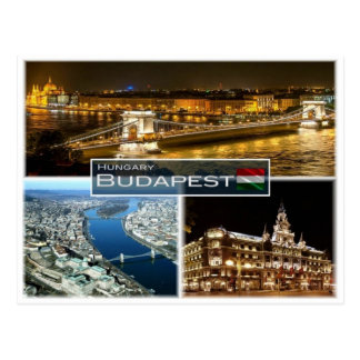 HU Hungary - Budapest - Postcard