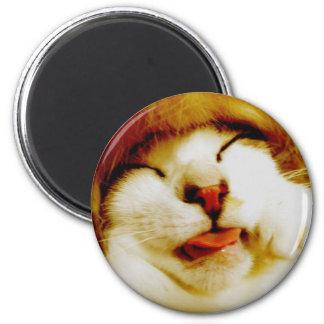 hu pe ro invitation 6 cm round magnet
