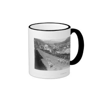 Hub-and-Hub Hose Team Race Photograph Mug