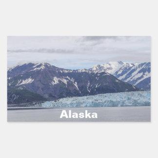 Hubbard Glacier Rectangular Sticker