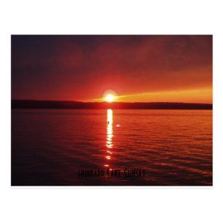Hubbard Lake Sunset Post Card