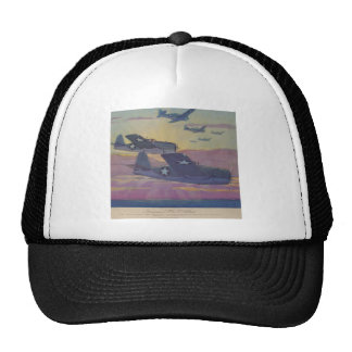 Hubbell's Grumman Fi6 Hellcat Cap