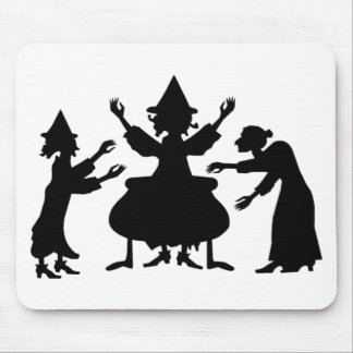 Hubble Bubble Witches Mouse Pad