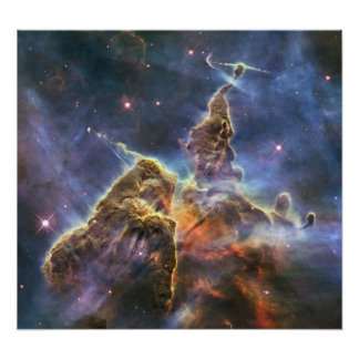 """Hubble captures view of """"Mystic Mountain"""" Poster"""