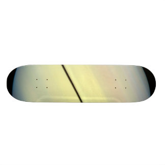Hubble Catches Titan Chasing Its Shadow - Frame 1. 18.1 Cm Old School Skateboard Deck