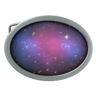 Hubble & Chandra Galaxy Cluster Belt Buckle