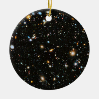 Hubble Deep Field Ceramic Ornament