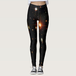 HUBBLE DEEP SPACE ASTROPHOTO LEGGINGS