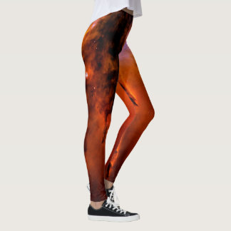 HUBBLE DEEP SPACE ASTROPHOTO NEBULA - WOMEN'S LEGGINGS