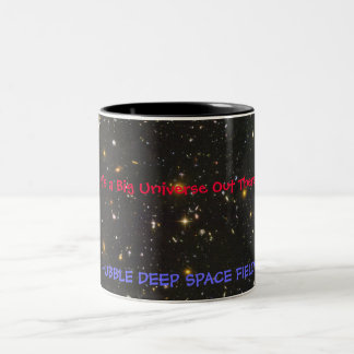 HUBBLE DEEP SPACE FIELD Two-Tone COFFEE MUG