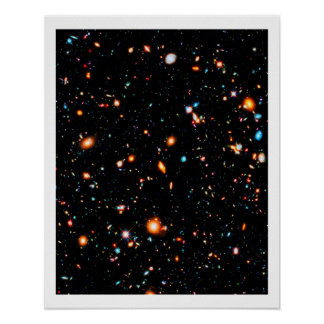 Hubble Extreme Deep Field Poster