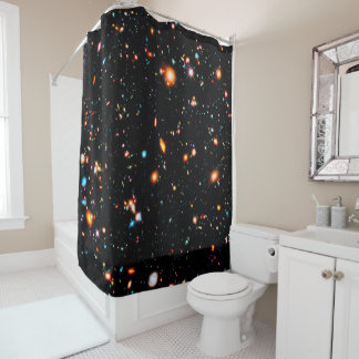 Hubble Extreme Deep Field Shower Curtain