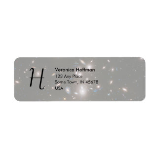 Hubble Frontier Field Abell 2744 Return Address Label