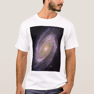 Hubble - Galex - Spitzer Composite Image of M81 T-Shirt
