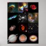 Hubble Hits - Best of Hubble Print