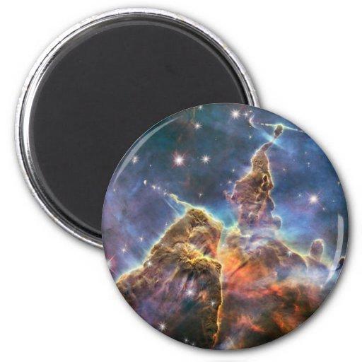 Hubble Image Deep Space Nebula Fridge Magnet