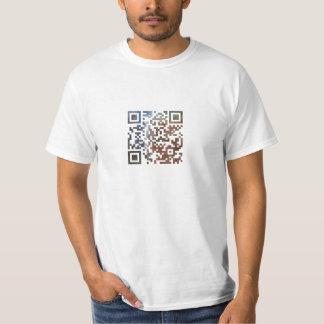 Hubble Keyhole QR Code T-Shirt