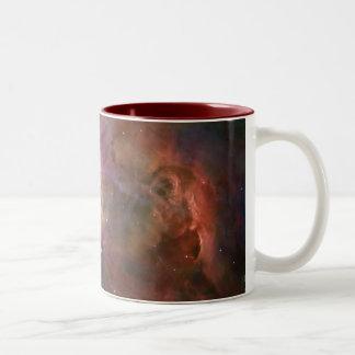 Hubble / Orion Nebula Two-Tone Coffee Mug