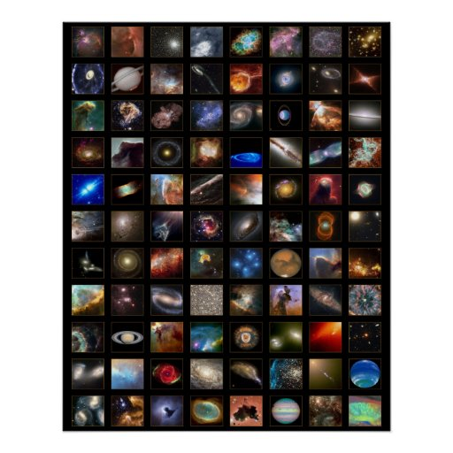 Hubble Space Poster